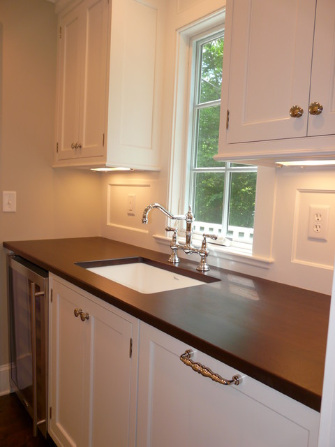 Frogtown Road- New Canaan traditional-kitchen