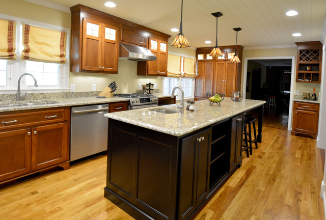 From dark to dreamy a kitchen renovation full of bright for Kustom kitchens