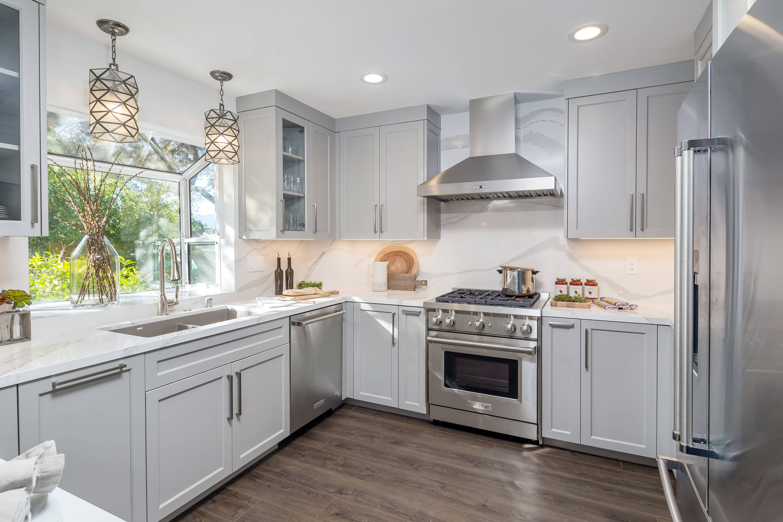 75 Beautiful U Shaped Kitchen With No Island Pictures Ideas April 2021 Houzz