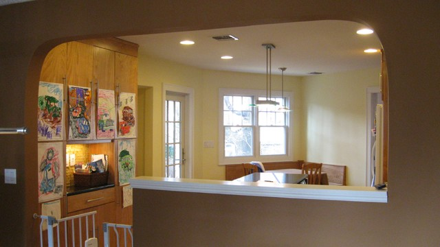 FRONT RE-DESIGN, MASTER SUITE ADDITION AND NEW KITCHEN 1930\'s ...