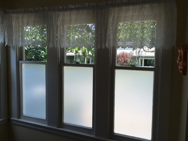 Frost Privacy Window Film for Homes - Kitchen