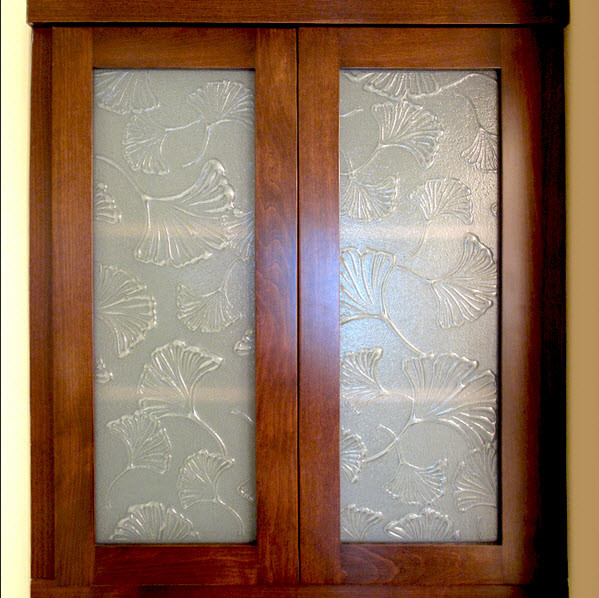Frosted Glass Cabinet Inserts