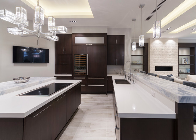 Ft Lauderdale Residence Modern Kitchen Miami By Opustone