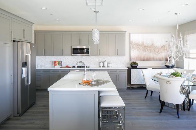 Fuchsia kitchen transitional kitchen orange county - Kitchen design showrooms orange county ca ...
