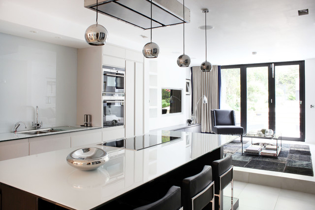 Fulham Road Terraced House Fulham London Contemporary Kitchen London By Peek