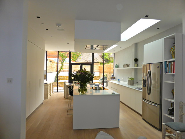 Fulham Side And Rear Extension Contemporary Kitchen