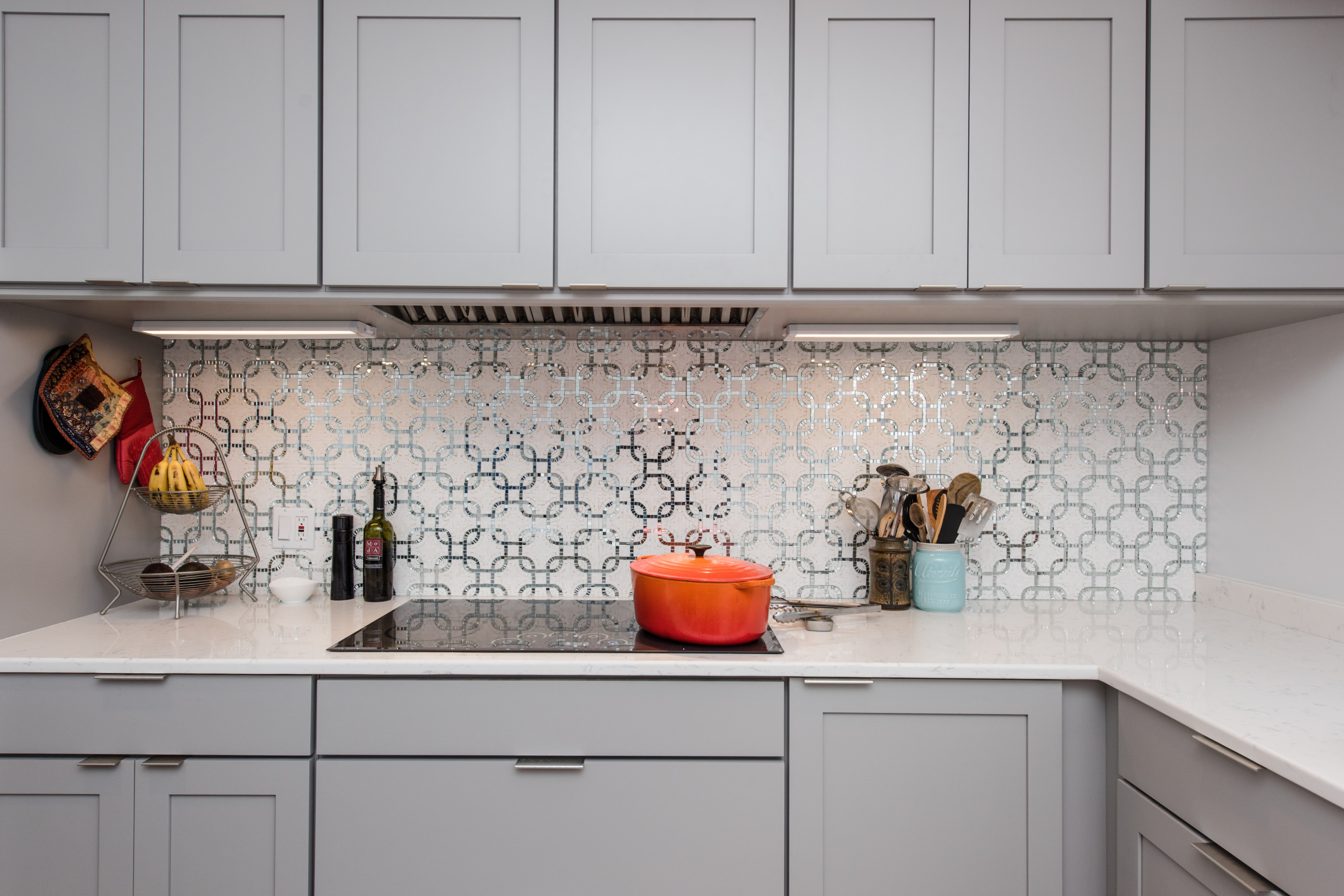 Full-Depth Wall Cabinets from Wellborn in Dove Finish
