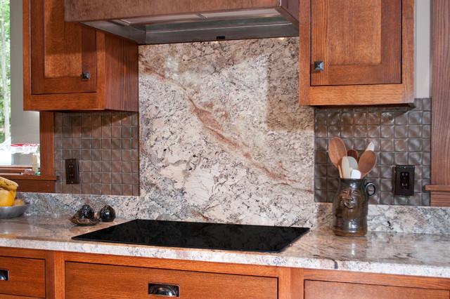 Full Height Granite Backsplash