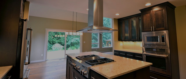Full House Remodel contemporary-kitchen