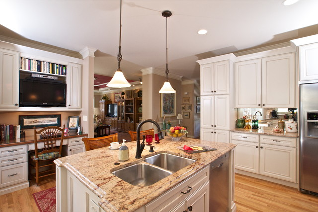 full remodel traditional-kitchen