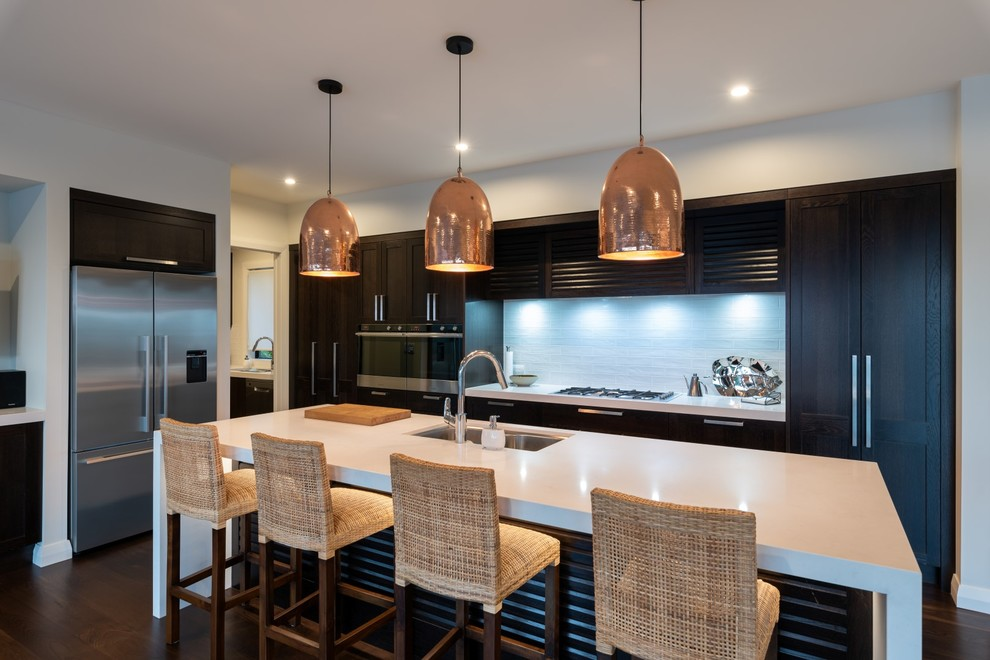 Fuller Terrace Residence - Traditional - Kitchen - Other ...