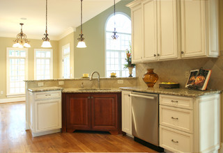 Fully Accessible Homes and Rooms - Traditional - Kitchen - raleigh ...