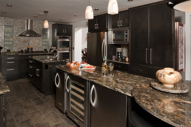 Fully Loaded Contemporary Kitchen New York By
