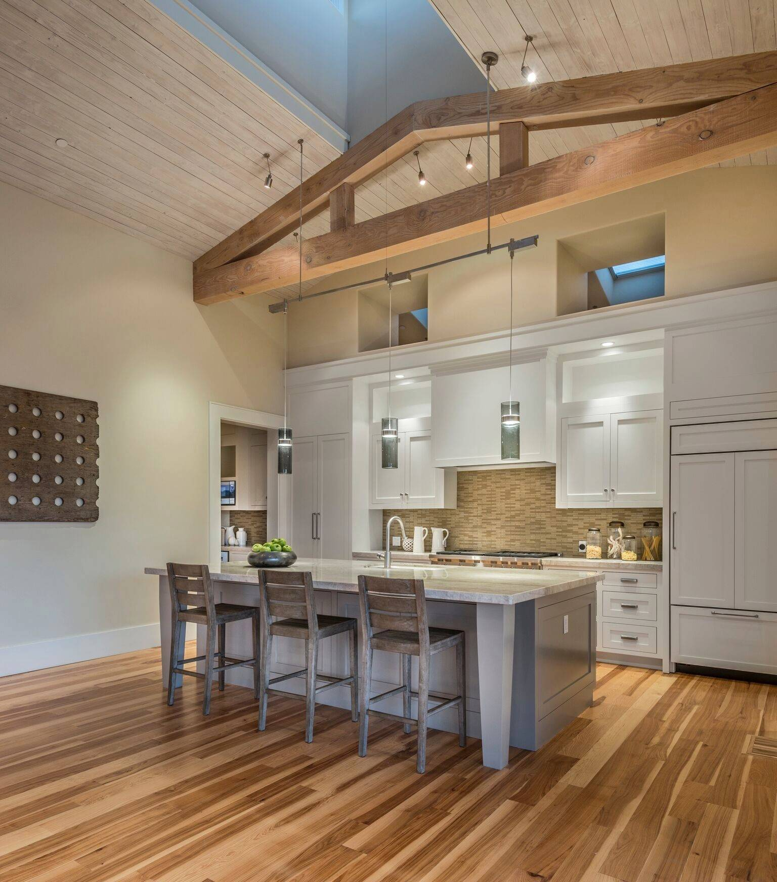 Sloped Ceiling In A Kitchen Ideas Photos Houzz