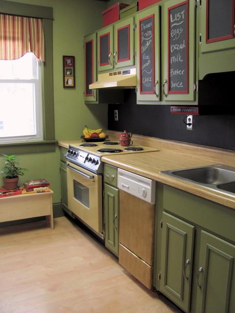 Fun updated kitchen