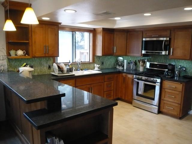 functional amp fun kitchen with lime alicious backsplash