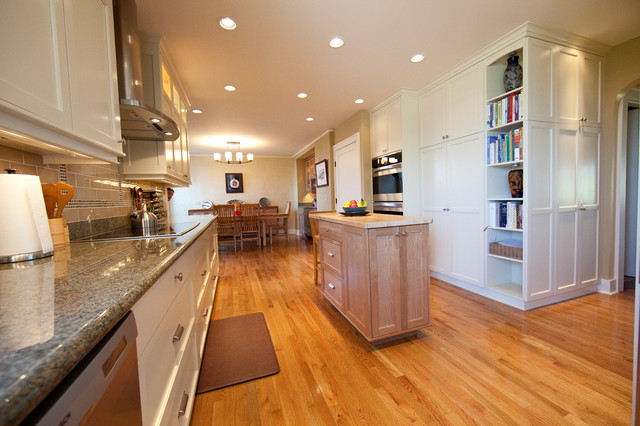 Functional Family Kitchen in Historic Home traditional-kitchen