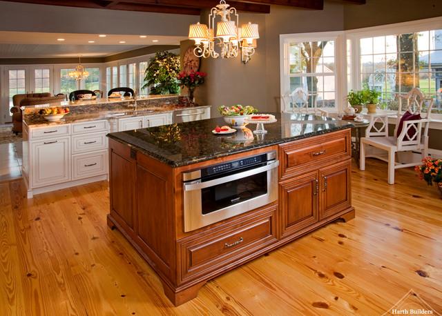 Functional island kitchen philadelphia by harth builders - Functional kitchen island with sink ...