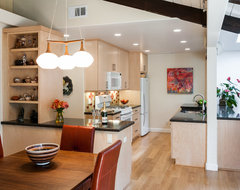 Functional Kitchen Design By Ken Rose: Summit Maple from Kitchen Craft transitional-kitchen