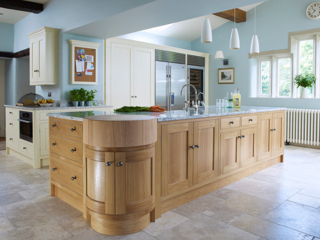 kitchen with island functional oak island traditional kitchen other by 10658