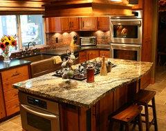 Furman Jr. Residence traditional-kitchen