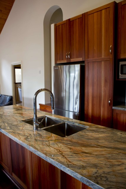 Fusion Quartzite Kitchen Kitchen Countertops Other Metro By The Stone Gallery