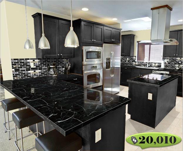 Kitchen Design G Shape g-shape kitchen - modern - kitchen - orange county -