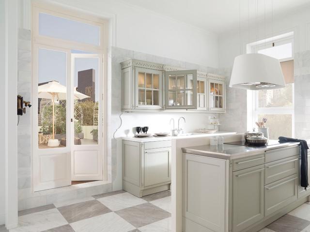 G445 Verde Cedro / Arcilla - Moderno - Cocina - Nueva York - de ...