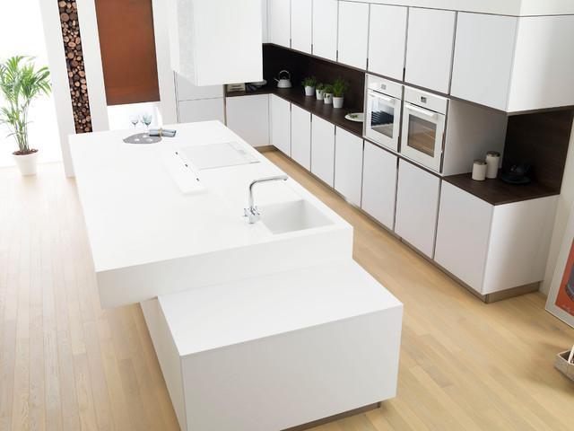 G100 blanco artico - Moderno - Cocina - Nueva York - de Porcelanosa