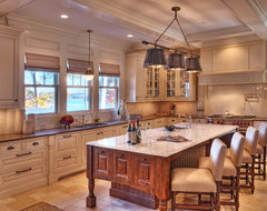 Gabriel Builders eclectic kitchen