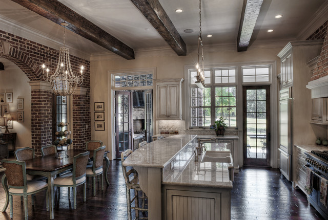Gabriel Builders traditional-kitchen