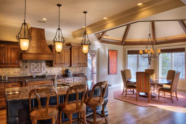 Gabriel Builders traditional-kitchen