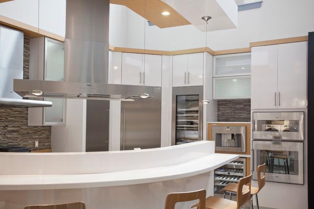 Gaggenau Integrated Kitchen contemporary-kitchen