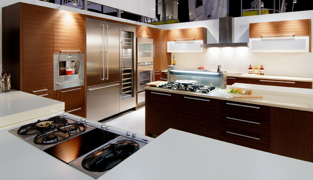 Gaggenau Kitchen Appliances Contemporary Kitchen