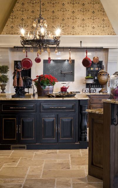 Gaillardia show home mediterranean-kitchen
