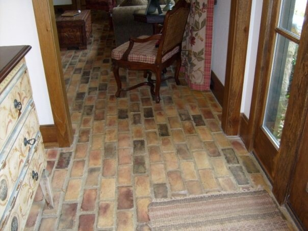 Farmhouse Brick Flooring Tile : Gainesville brick floor