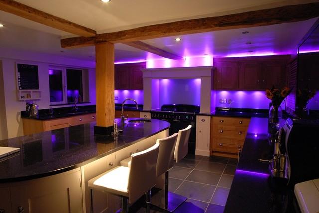 Galaxy Black Granite Worktops Modern Kitchen