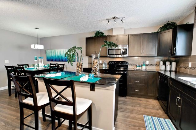Galea Duplex Showhome - Essence of Skyview Ranch contemporary-kitchen