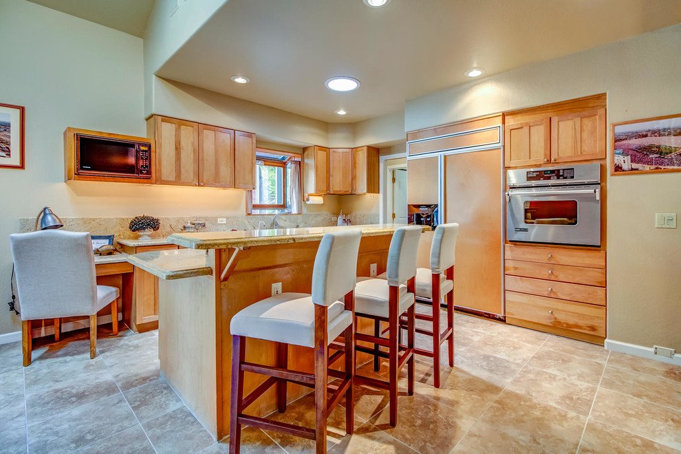 Galena Forest Redesign, Reno, Nevada - Eclectic - Kitchen ...