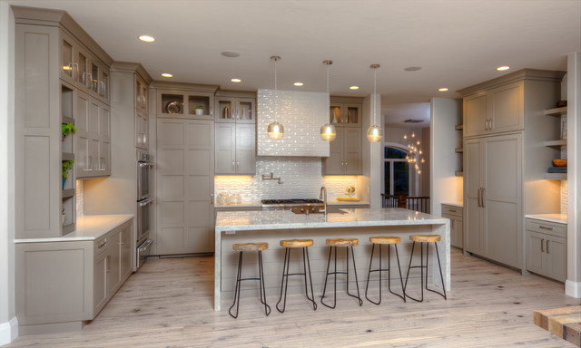 Brooks Brothers Cabinetry · Kitchen U0026 Bath Designers. Galiant Homes  Transitional Kitchen