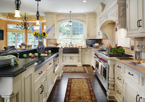 Traditional Kitchen by Saddle Brook Kitchen & Bath Remodelers Salerno's Kitchen