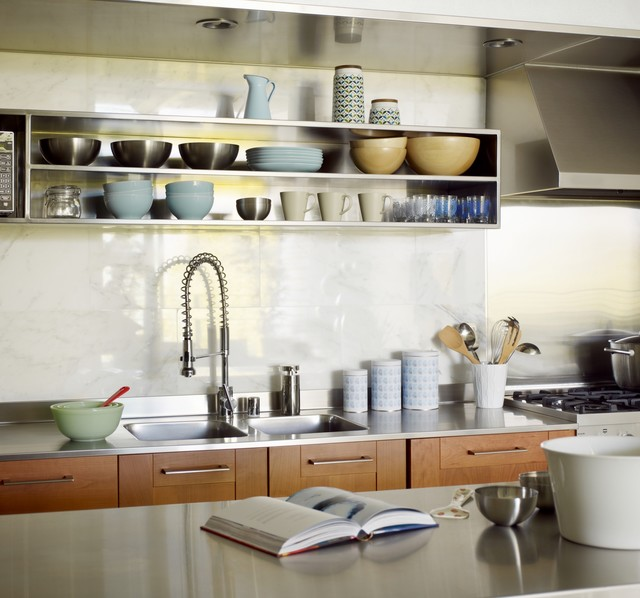 Ordinaire Gallery Loft Contemporary Kitchen