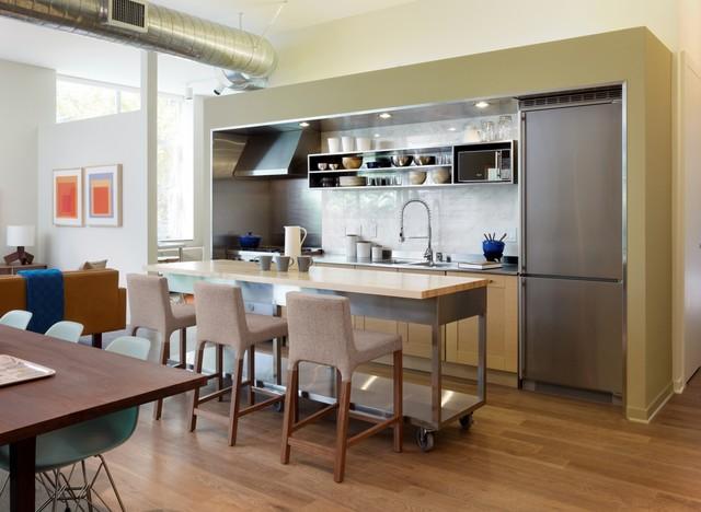 Gallery Loft modern-kitchen