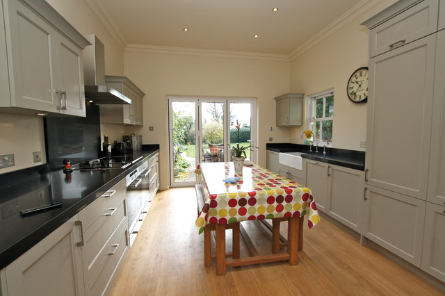 Galley Country Kitchen galley country kitchen - country - kitchen - london -lwk