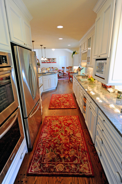 Galley Kitchen Amp Family Room Remodeled Into A Large