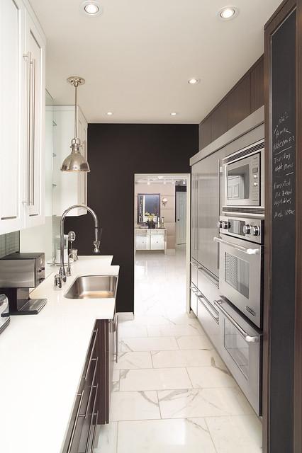 Galley Kitchen Contemporary Kitchen Toronto By Arnal