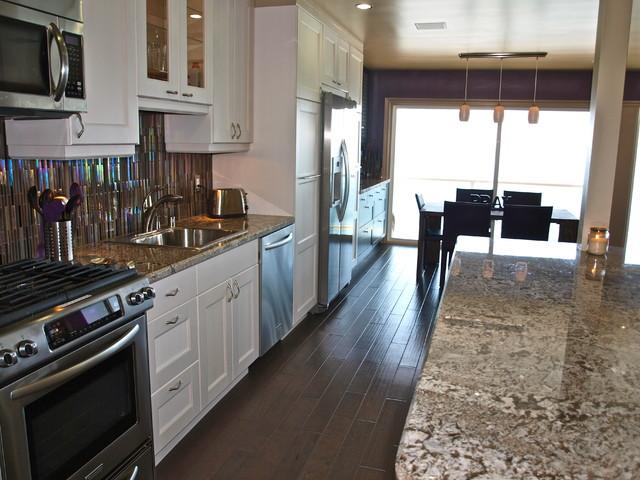 Galley Kitchen Contemporary Kitchen Orange County
