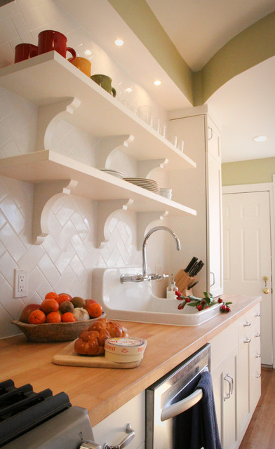 Galley kitchen traditional kitchen dc metro by for Traditional galley kitchen designs