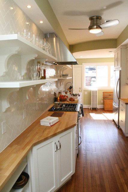 Galley kitchen traditional kitchen dc metro by for Traditional galley kitchens