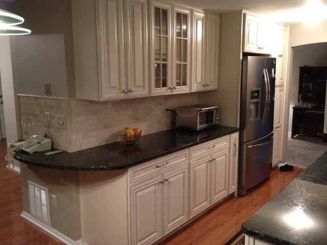 Galley kitchen traditional kitchen new york by lowes